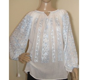 Hand embroidered blouse,...